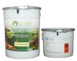 peinture antel a1 pond paint peinture pour bassin. Black Bedroom Furniture Sets. Home Design Ideas